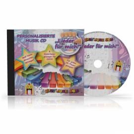 Personalisierte Kinderlieder  CD -Lieder für mich- mit dem Namen Ihres Kindes und Ihrem Widmungstext - Bild vergrößern